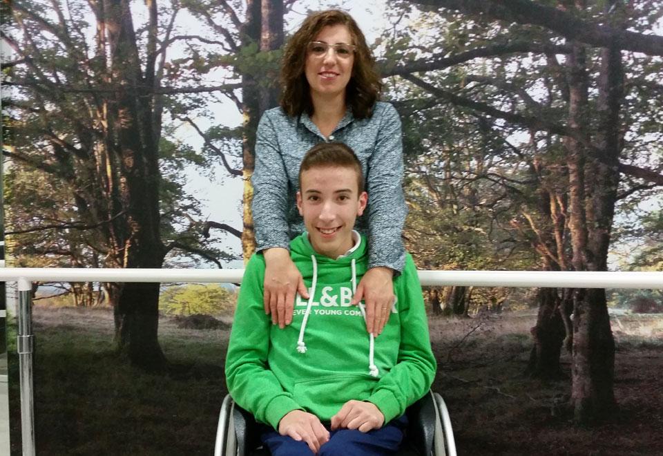 Fernando y su madre