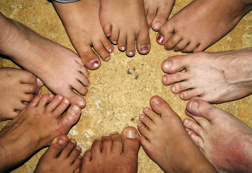 El uso de plantillas para mejorar la salud de nuestros pies