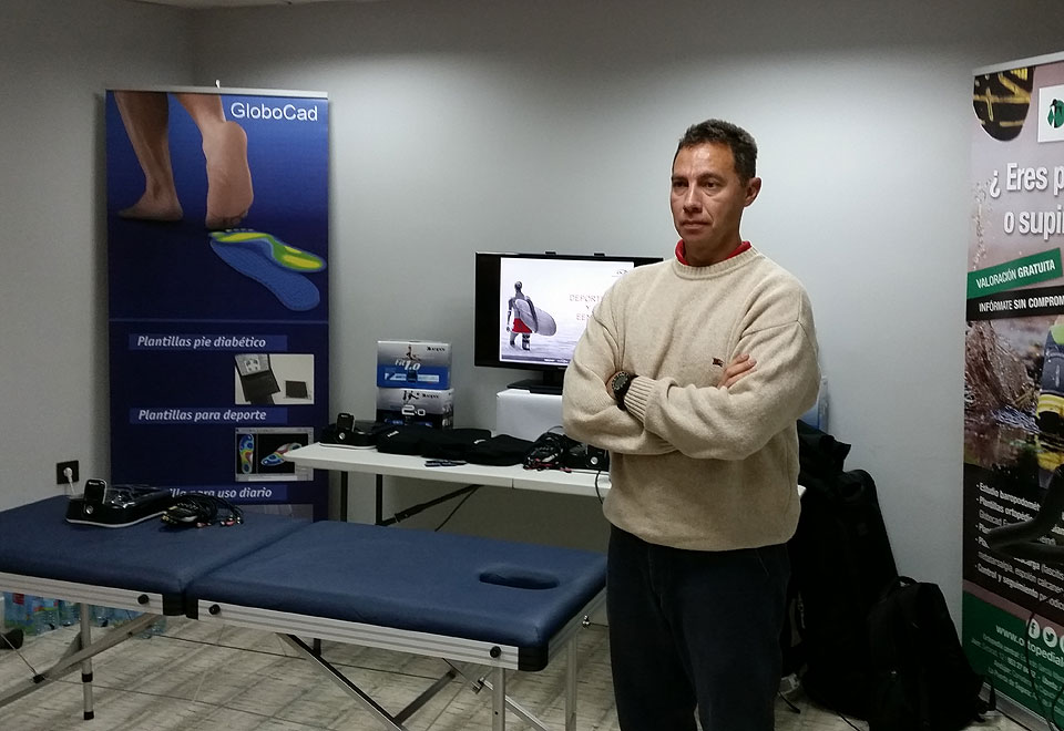 Jordi Cortina, product manager de la empresa DJO Global