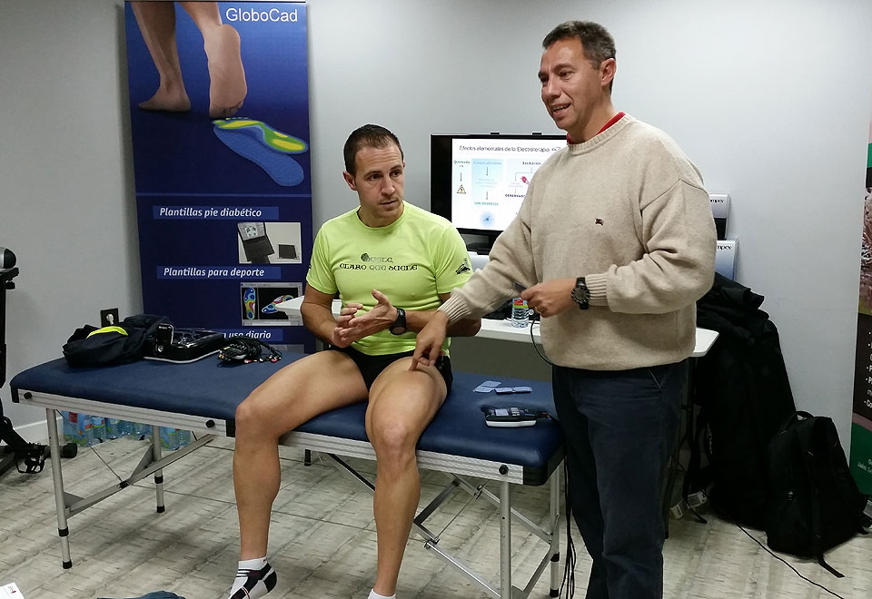 Recupera fuerza muscular y alivia el dolor con electroestimulación