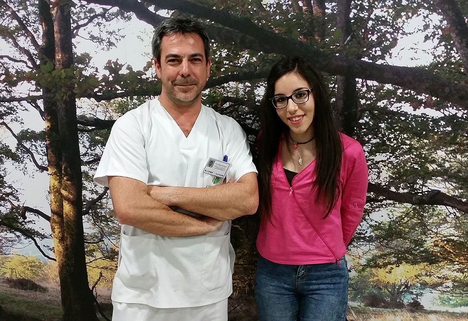 Pili con David de Ortopedia López