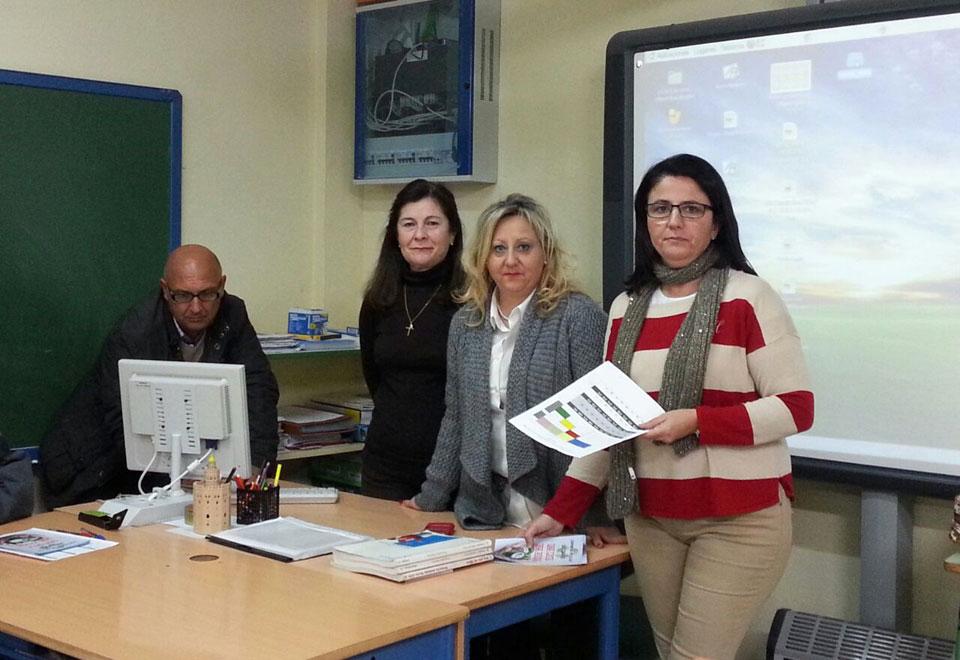 Formación impartida a  profesores de un colegio de Torredelcampo