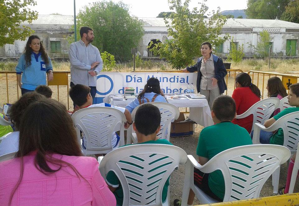 Jornada de alimentación y deporte en Torredonjimeno organizadas por el centro de salud