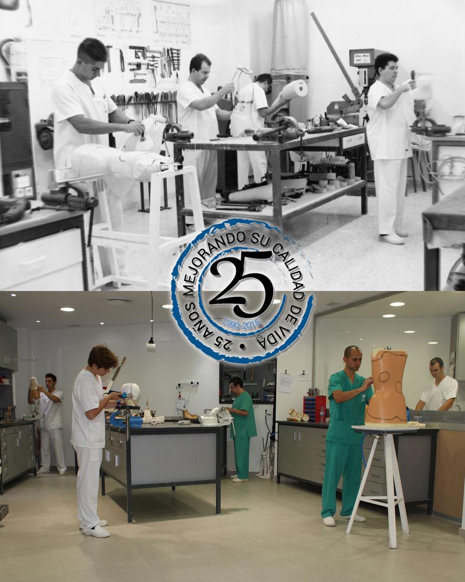 25 Aniversario Ortopedia López