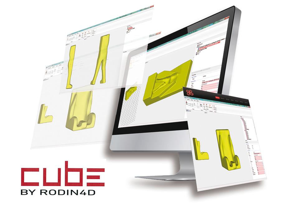 Sistema Cube. Técnica empleada para el diseño y la fabricación de asientos y lechos posturales