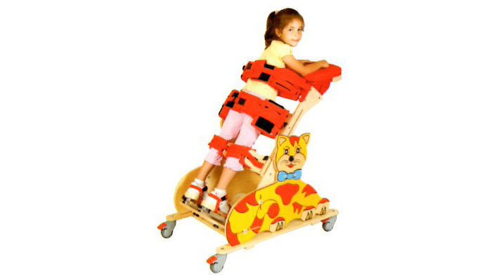 Bipedestador infantil Cat fijo o inclinable talla 1