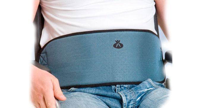 Arnés abdominal para silla