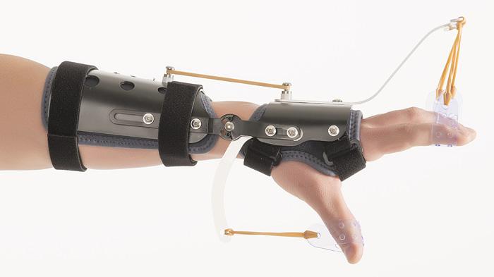 Férula dinámica de miembro superior palmar y antebrazo