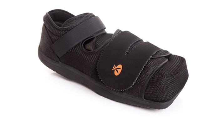 Zapato post-operatorio especial pie diabético/ulceras