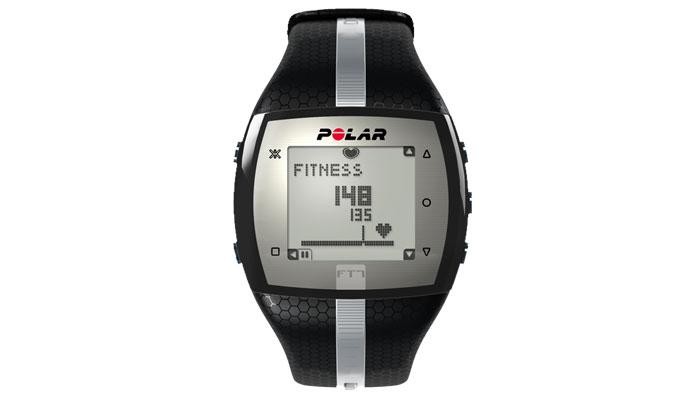 Pulsómetro FT7 Polar negro-plata