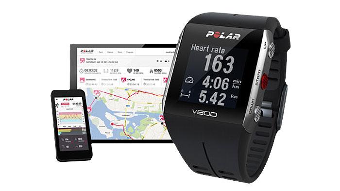 Pulsómetro V800 con GPS integrado