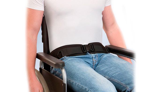 Cinturón pélvico cierre hebilla