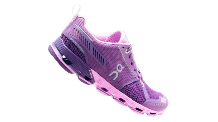 Zapatilla deportiva on running Cloudflyer Purple/Rose