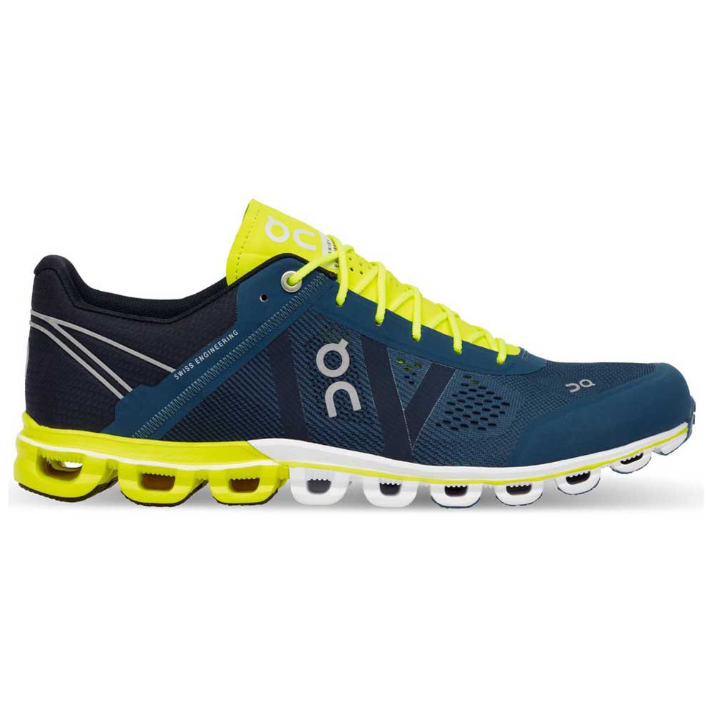 Zapatilla deportiva on running CloudFlow Petrol/Neon
