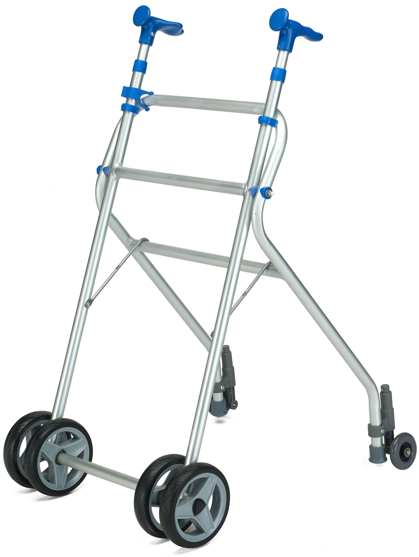 Andador Sunrise Medical aluminio ruedas atrás