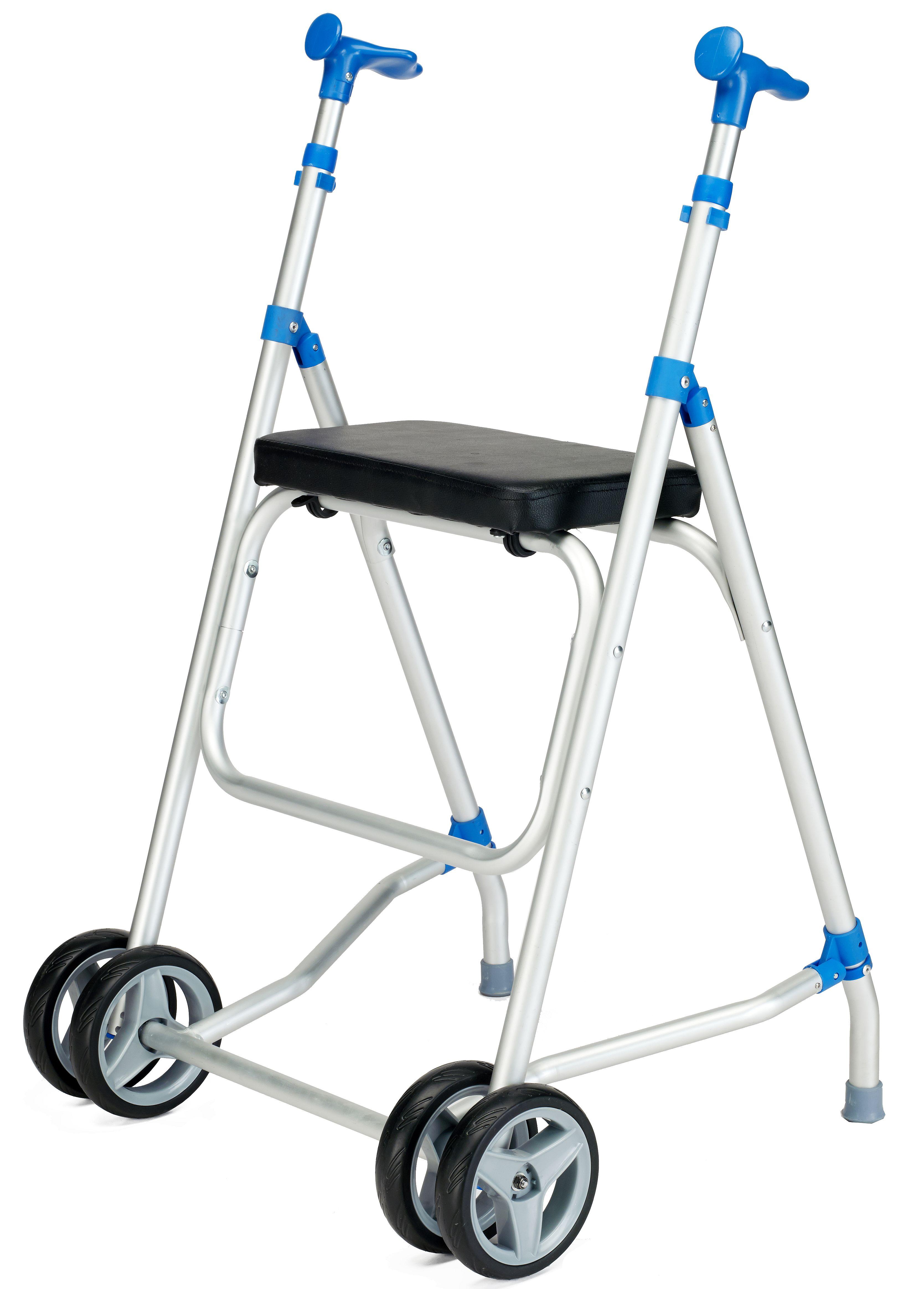 Andador Sunrise Medical Aluminio con asiento