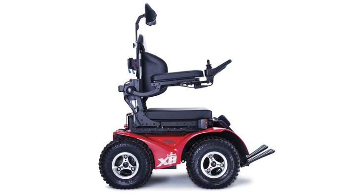 Silla de ruedas eléctrica Extreme X8 4 x 4 Todo Terreno Magic Mobility