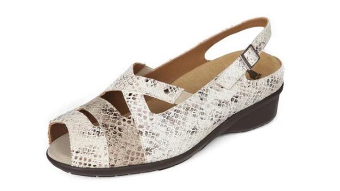 Calzado Alviflex sandalias con tiras cruzadas