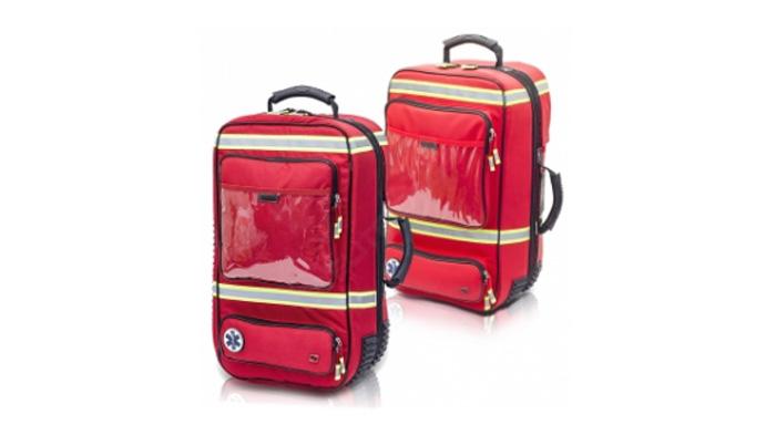 Maletin Elite Bags emergencias rojo