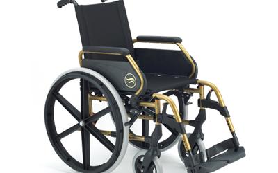 Sillas de ruedas manuales de acero