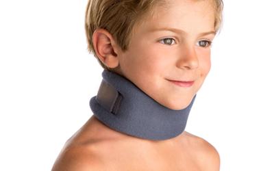 Línea infantil cuello