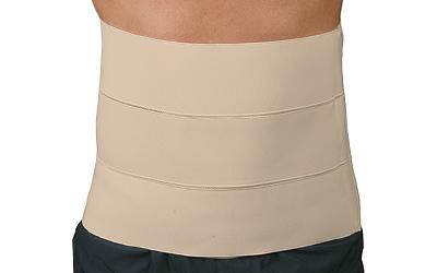 Bandas abdominales y costales