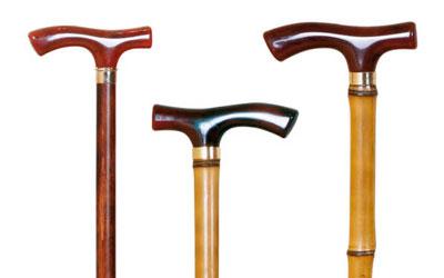 Muletillas madera clásicas